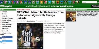 Resmi Diumumkan, Suporter Persija Pertanyakan Keberadaan Marco Motta