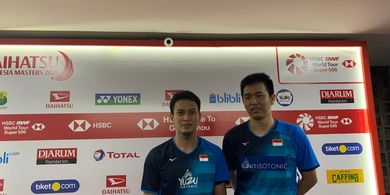 Indonesia Masters 2020 - Bikin Sport Jantung, Ahsan/Hendra Lolos ke Semifinal