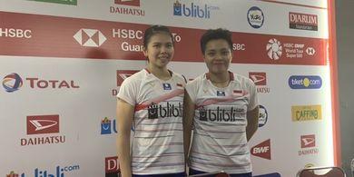 Indonesia Masters 2020 - Greysia/Apriyani Patahkan Kutukan Lapangan 1, Lolos ke Perempat Final