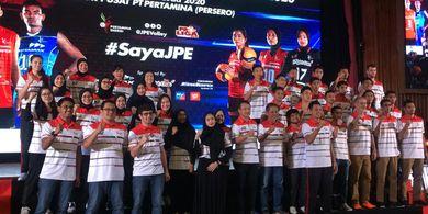 Launching Tim, Jakarta Pertamina Energi Bidik Juara Proliga 2020