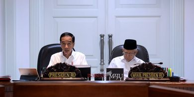 Presiden RI Jokowi Gelar Rapat Terbatas Bahas Piala Dunia U-20 2021