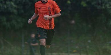 Kondisi Evan Dimas Belum 100 Persen saat Latihan Perdana di Persija