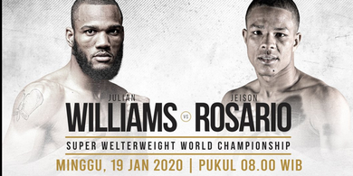 Link Live Streaming Tinju Dunia - Julian Williams vs Jeison Rosario pada Pagi Ini