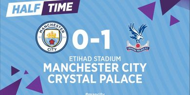 Babak I - Gol Rekrutan Januari Bikin Manchester City Tertinggal dari Crystal Palace