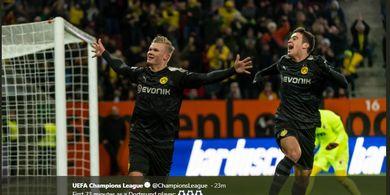 Hasil Lengkap Bundesliga, Erling Haaland Hattrick dalam 20 Menit Debut di Dortmund!
