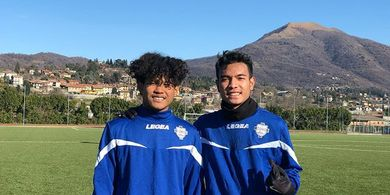 Brylian Aldama Kaget Bisa Latihan Bersama Klub Serie C Italia