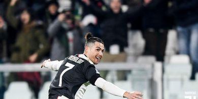 Hasil Liga Italia - Cristiano Ronaldo Ukir Sejarah Baru, Juventus Jauhi Inter Milan
