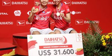 Indonesia Tempel China dalam Raihan Gelar Juara BWF World Tour 2020