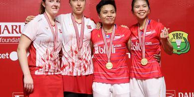 Indonesia Masters 2020 - Kepala Terlanjur Pusing, Greysia/Apriyani Tak Pikirkan Strategi