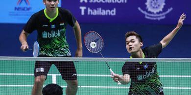Hasil Undian Wakil Indonesia pada Spain Masters 2020 - Leo/Daniel Temui Unggulan Ke-4