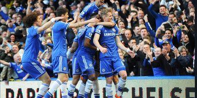 VIDEO - Cuplikan 6 Gol Chelsea Memberondong Gawang Arsenal pada 2014
