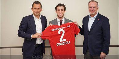 RESMI, Bayern Muenchen Pinjam Alvaro Odriozola dari Real Madrid