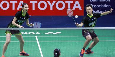 Hasil Thailand Masters 2020 - Berlangsung Ketat, Hafiz/Gloria Menangi Derbi Indonesia