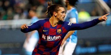 Hasil Copa del Rey - Barcelona dan Madrid Lolos 16 Besar, Griezmann dan Bale Kompak