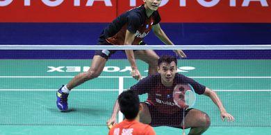 Hasil Thailand Open II 2021 - Dikalahkan Wakil Jerman, Fikri/Bagas Gagal Susul Ahsan/Hendra