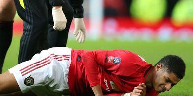 Solskjaer Khawatir Marcus Rashford Tak Bisa Ikut Piala Eropa