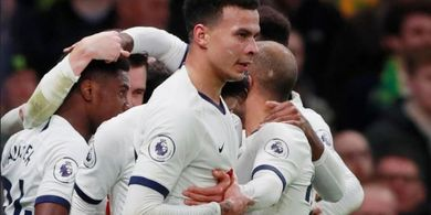 Tottenham Vs Norwich - Gol Alli Akhiri Rapor Merah Mourinho Selama 6 Jam, 55 Menit