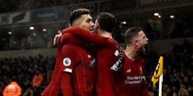 Starting XI  Liverpool Vs Aston Villa - Roberto Firmino dan Jordan Henderson Cadangan