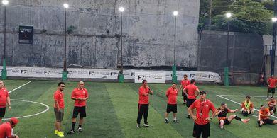 Osvaldo Lessa Datang, Latihan Persija Kini Dipimpin Lima Pelatih