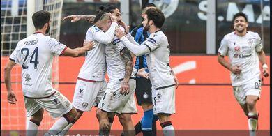 Hasil Liga Italia - Radja Nainggolan Gagalkan Kemenangan Inter Milan