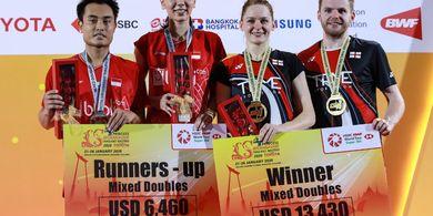Rekap Final Thailand Masters 2020 - Gelar Juara Tersebar Rata ke 5 Negara