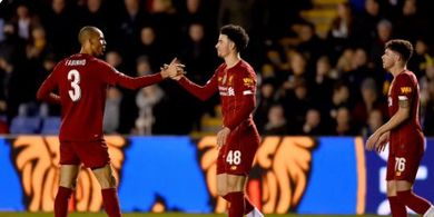 Hasil Piala FA - Akhirnya Mainkan Mo Salah dan Firmino, Liverpool Gagal Lolos