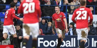 Langka, Man United Bisa Bikin 5 Gol di Babak Pertama Sebuah Laga
