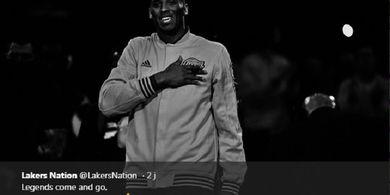 Klub dan Legenda NBA Ramai-ramai Beri Tribut untuk Kobe Bryant