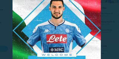 Resmi, Matteo Politano Jadi Perekrutan Ke-4 Napoli di Bursa Transfer Januari