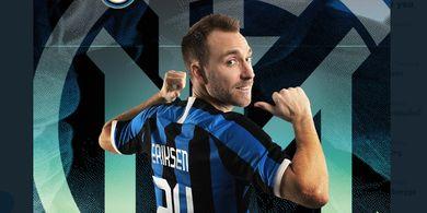Resmi ke Inter Milan, Christian Eriksen Pilih Nomor Bek dan Kobe Bryant