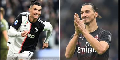 Semifinal Coppa Italia, Cristiano Ronaldo Jumpa Zlatan Ibrahimovic!