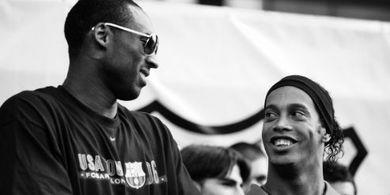 Video Obrolan Kobe Bryant dan Ronaldinho soal Lionel Messi Jadi Viral
