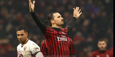 Hadapi AC Milan, Striker Fiorentina Sebut Ibrahimovic sebagai Legenda
