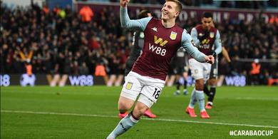 Hasil Piala Liga Inggris - Tundukkan Leicester, Aston Villa Melaju ke Final