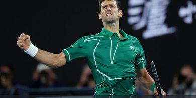 Alasan Novak Djokovic Putuskan Mundur dari Paris Masters 2020