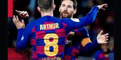 Lionel Messi Cs Ditahan Napoli 1-1, Peluang Barcelona Lolos 86 Persen