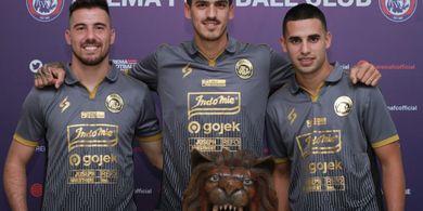 Liga 1 2020, 4 Pemain Asing Diharapkan Tidak Keluar dari Arema FC