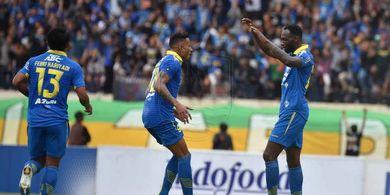 Geoffrey Castillion Cedera, Persib Bandung Unggul Atas PSS Sleman