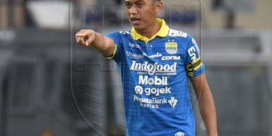 Gelandang Persib Bandung Mengaku Sedih Kompetisi Harus Dihentikan