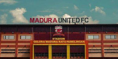 Markas Madura United Dinyatakan Tidak Lolos Verifikasi Kelayakan