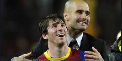 Isyaratkan Reuni dengan Pep Guardiola, Ayah Lionel Messi Sudah di Manchester