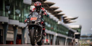 Hasil Tes Pramusim MotoGP 2020 Qatar - 3 Yamaha Masuk Top 5, Rossi Tercecer