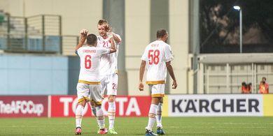 Kalahkan Shan United, PSM Makassar Raih Poin Pertama di Piala AFC 2020