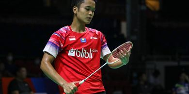 Jadwal PBSI Home Tournament - Anthony Ginting Buka Kompetisi Tunggal Putra