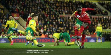 Makin Krusial buat Liverpool, Gol Sadio Mane Sumbang 14 Poin