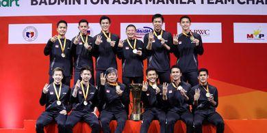 5 Fakta Gelar Juara Tim Putra Indonesia di Kejuaraan Beregu Asia 2020