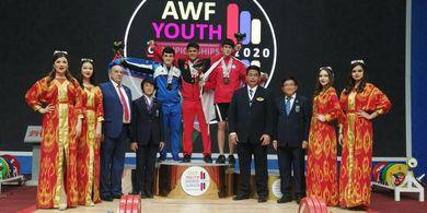 Tiba di Tanah Air, Kontingen Indonesia Perebut 16 Emas di Kejuaraan Angkat Besi Asia Junior