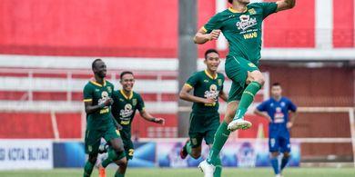 Momen Selebrasi Provokatif Mahmoud Eid di Final Piala Gubernur Jatim