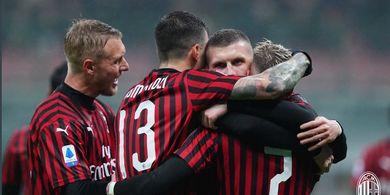 Hasil Liga Italia - Top Scorer Baru dan Debut Serie A, AC Milan Pukul Torino 1-0
