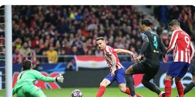 Atletico Vs Liverpool - Dibobol Menit 4, Alisson Becker Cuma 2 Kali Kejebolan
